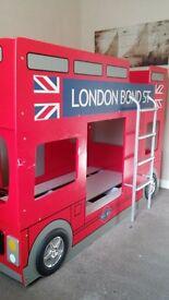 london bus bunk beds £150
