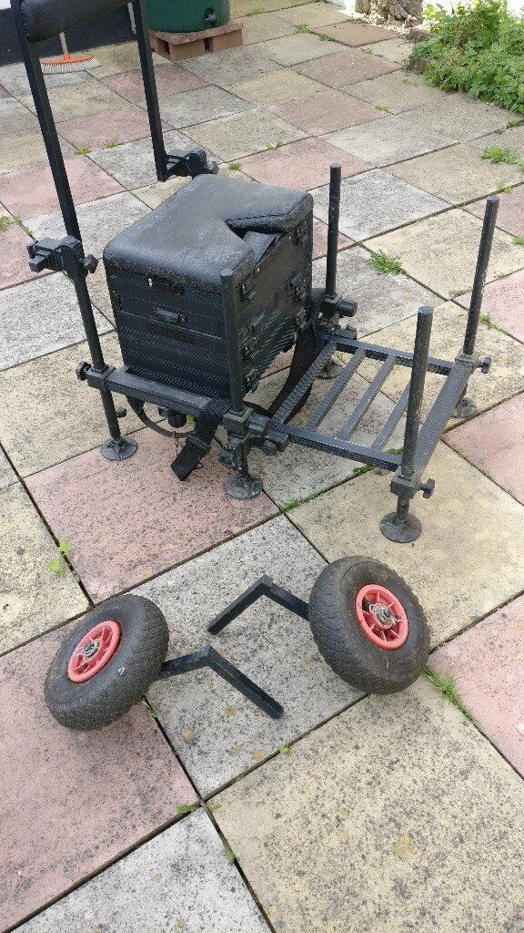 Fishing tackle seat box, tatty but some life in it yet :) | in  Westcliff-on-Sea, Essex | Gumtree