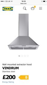 Vindrum Cooker Hood from Ikea - never used