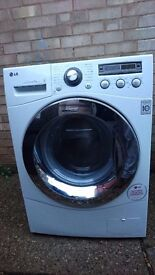LG F1281TD DirectDrive 8kg 1200rpm Freestanding Washing Machine - White