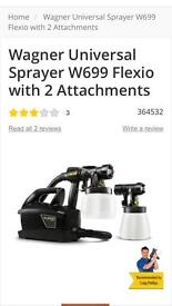 Wagner paintspraying system