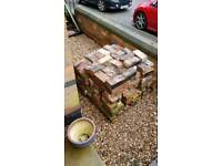 2 pallets of old bricks