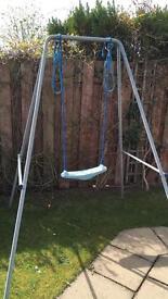 Kids tp garden swing