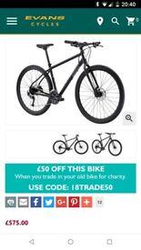 Hybrid Bike Pinnacle from Evans Cycles