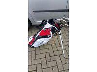 Dunlop FP5 golf irons and Fazer bag