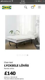 Futon bed chair