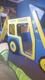 KIDS JCB DIGGER BED