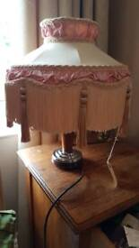 Vintage Hand made will lamp shade