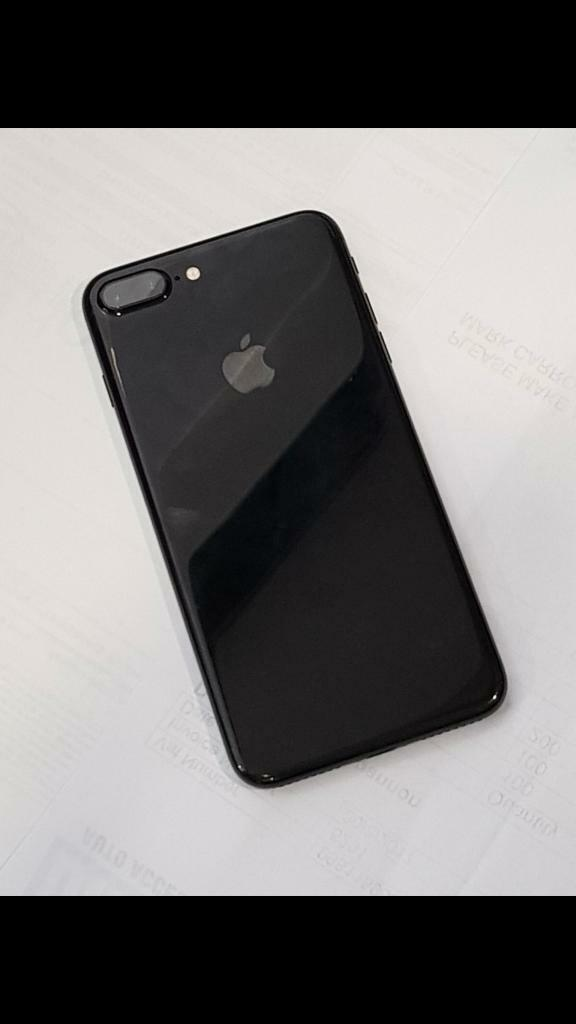 I phone 7 plus in jet black 128GB . Unlocked in mint condition