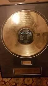 John Lennon 24kt Limited Edition LP. 25th Anniversary