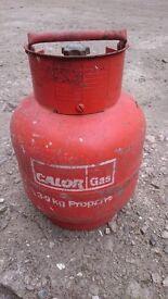 Empty Calor Gas Propane Tank - 3.9kg