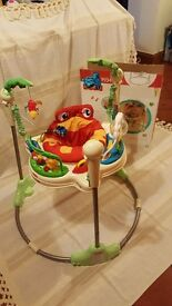 Baby Fisher-Price Jumperoo (in original box) excellent condition