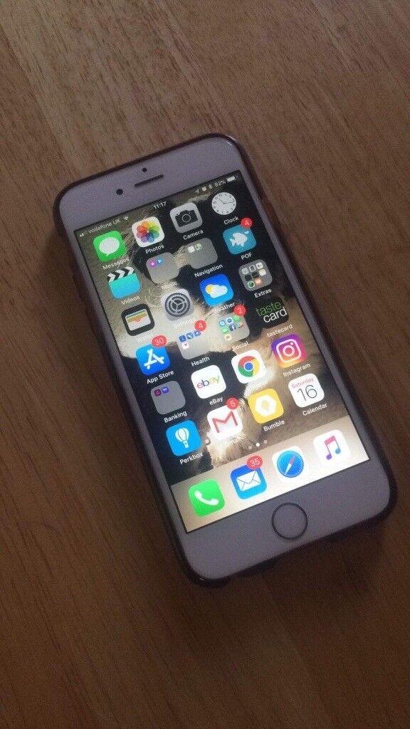 iPhone 6s In rose gold 16gb