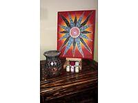 Energetic painting of Sun