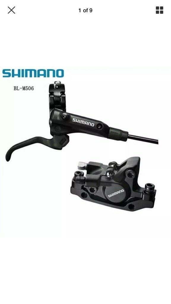 Shimano m506 set front&rear. Brand new. Taken from the brand new bike. RRP £80