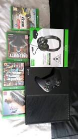 Xbox one turtle beach and games