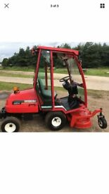Shibaura Diesel Ride On Mower with Very Heavy Duty, PTo Driven Wiedermann Deck