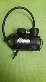 Electric auto care car tyre pump
