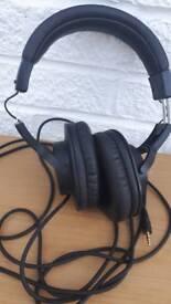 Headphones studio audio technica