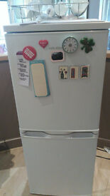 BUSH Fridge Freezer as new with ARGOS MONTHLY CARE WARRANTY AVAILABLE