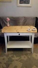 Solid pine table or kitchen island