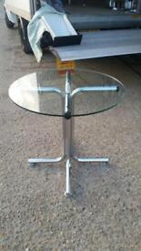 Glass round table on clearance just £45 Only!!