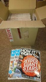 Box of 52 issues of How It Works Magazine - the fact-packed science and technology magazine!