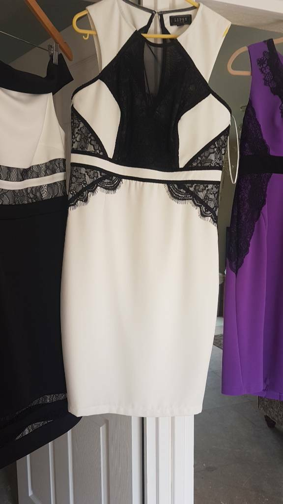 Lipsy dress 14in Coulby Newham, North YorkshireGumtree - Never worn size 14 ..cream and black lace