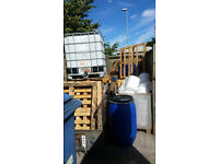 IBC, Pallets, Barrels / Drums, Cages, Plastic buckets