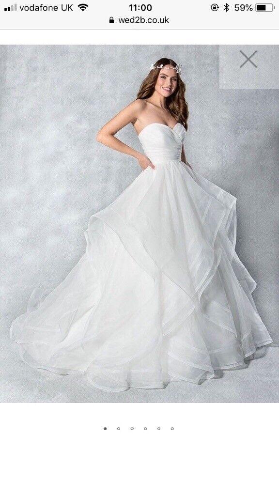 Beautiful Viva Bride Hadley Dress Size 12 (street size 10) Ivory ...