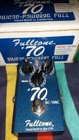 MINT CONDITION FULLTONE 70S FUZZ.