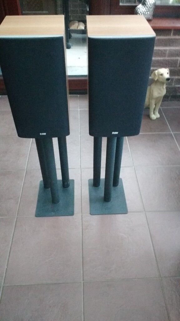 Bowers & Wilkins 603 S3 Hi Fi speakers with stands £90 *******