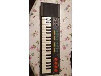 Childs first music keyboard