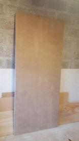 Fire door, solid core 3' x 7' door blank FD30 *NEW*
