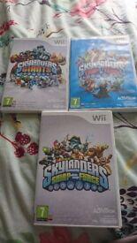 3 skylander games