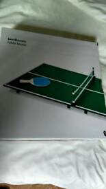 Table top table tennis table ideal Christmas present
