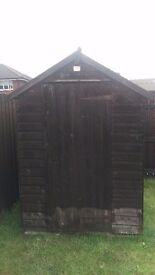 Garden Shed for Sale 7x5. Buyer to dismantle
