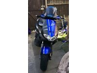 Gilera runner fx 180cc registerd as 125cc 2stroke