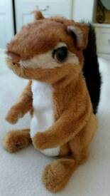 CUTE 'FUR REAL' CHIPMUNK TOY - INTERACTIVE