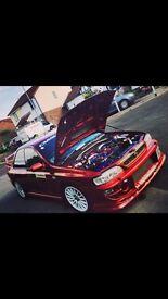 Subaru Impreza wrx sti converted