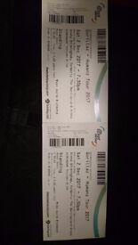 2x Gorillaz Standing Tickets