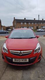 Hi im selling Vauxhall Corsa 1.3 CDTi ecoFLEX … 2013 (13 reg)