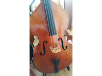 1960s East German Double Bass