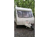 Bailey Pagaent Moselle 4 Berth with full sized Awning
