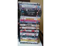 80 DVDs icl films and TV series