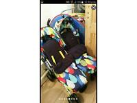 Double pushchair cosatto to and fro sale or swap
