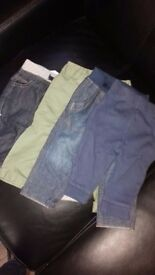 Boys trousers and jeans age 3-6 months