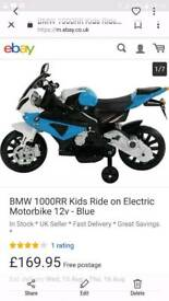 Bmw kids battery powered motorbike