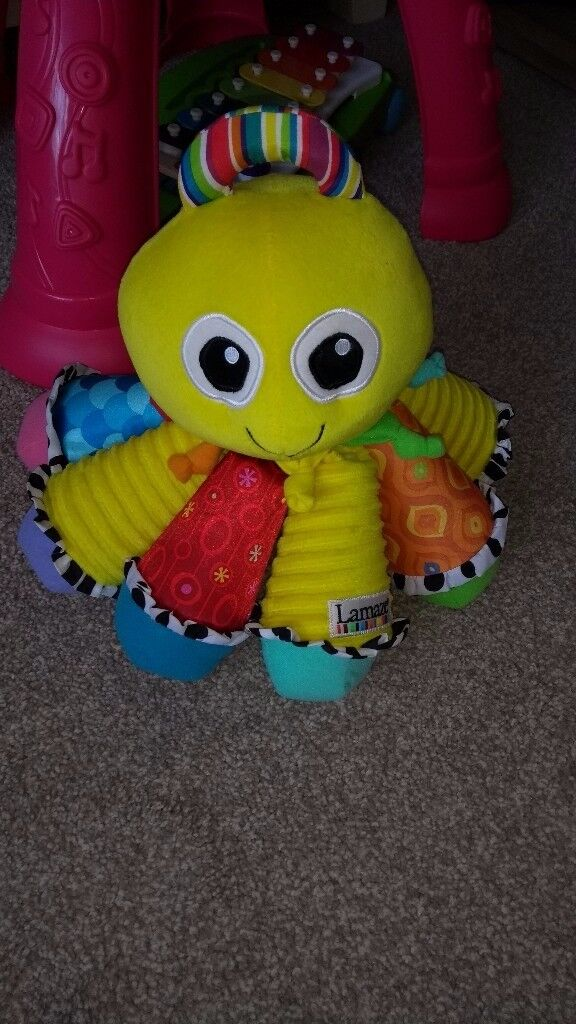 Lamaze Octotunes Yellow Octopus Musical Soft Toy