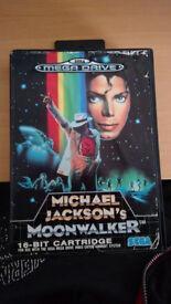 Michael Jackson's moonwalker sega megadrive